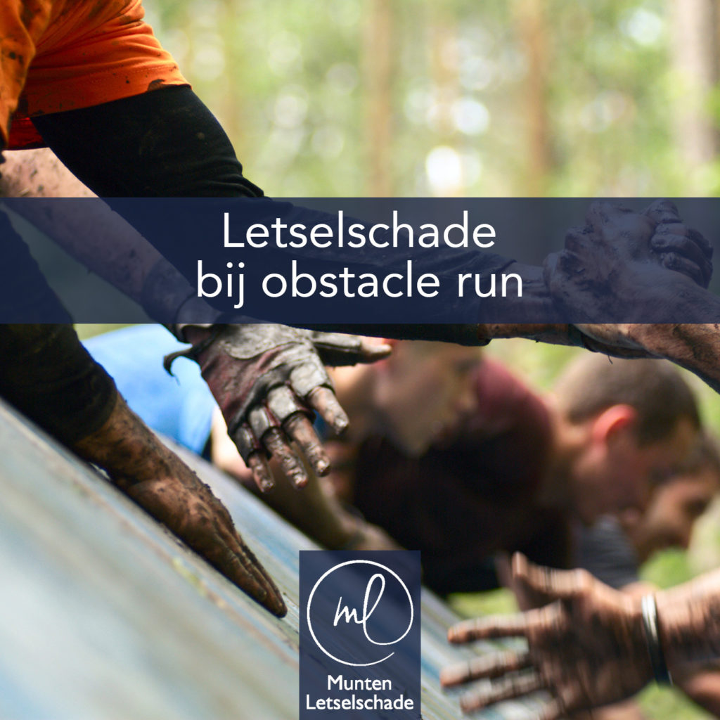 Obstacle run ongeval