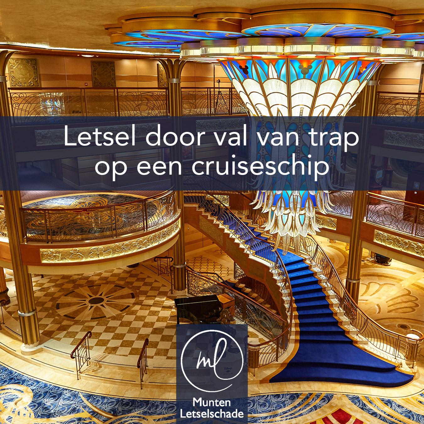 Val op Cruiseschip
